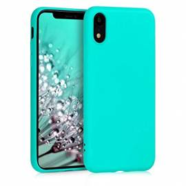 Coque soft touch Turquoise iPhone 6/6S