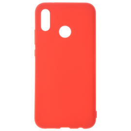 Coque soft touch Rouge A20e