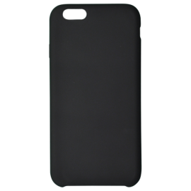 Coque soft touch Noire iPhone 6/6S