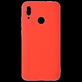 Coque silicone Rouge Y6 2019