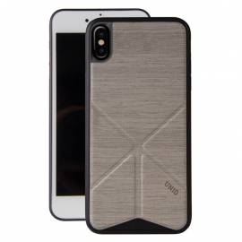 Coque transformable Grise iPhone X