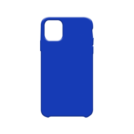 Coque soft touch Bleue iPhone 11 Pro Max