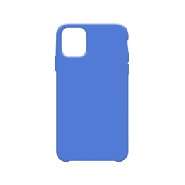 Coque soft touch Bleue iPhone 11