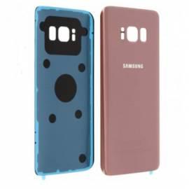 Vitre arrière rose compatible Galaxy S8