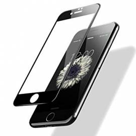 Verre trempé 3D iPhone 6/7/8 Noir