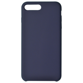 Coque soft touch Bleue Marine iPhone 11