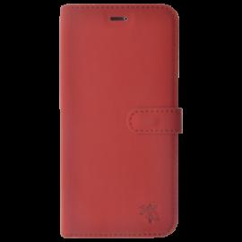 Folio Aimanté Rouge S7 Edge