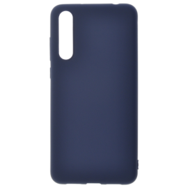 Coque soft touch Bleue A50