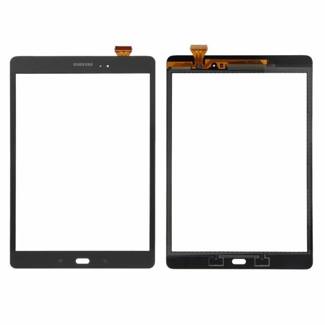 Vitre tactile Noire Galaxy Tab A - 9.7 - T550