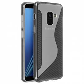 Coque Silicone S Transparente Galaxy A8+ 2018