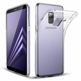 Coque Silicone Transparente Galaxy A8 2018