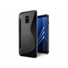 Coque Silicone S Noire Galaxy A6 2018