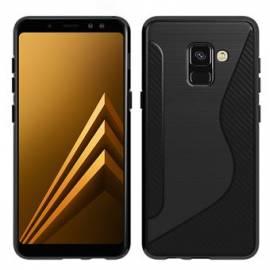 Coque Silicone S Noire Galaxy A8 2018