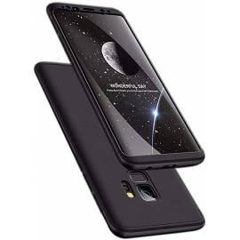 Coque 3 en 1 Noire S9+