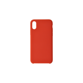 Coque Soft touch rouge S20+