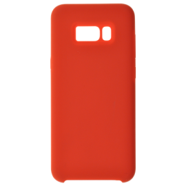 Coque soft touch Rouge S10 Plus