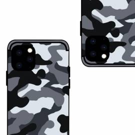 Coque militaire grise iPhone 11