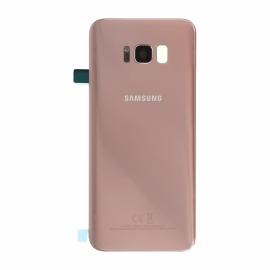 Vitre arrière originale Argent Samsung Galaxy S8+