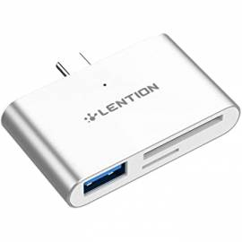 Adaptateur USB-C vers USB/Lecteurs de Cartes SD/Micro SD