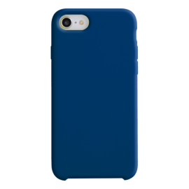 Coque soft touch Bleue iPhone 12/ 12Pro