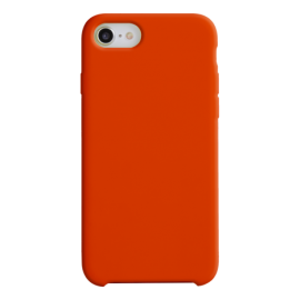 Coque soft touch Rouge iPhone 12 Mini