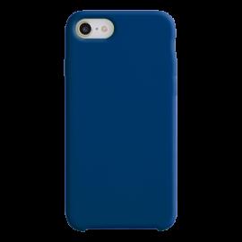 Coque soft touch Bleue Marine iPhone XR