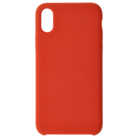 Coque Soft touch rouge P40