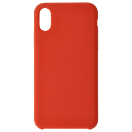 Coque soft touch Rouge A51