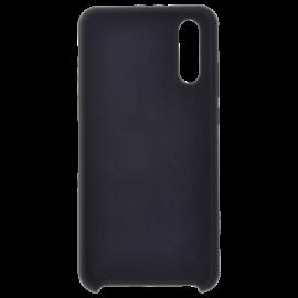 Coque soft touch Noire A51