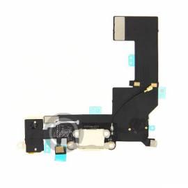 Connecteur de charge Blanc iPhone SE