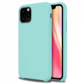 Coque soft touch Turquoise iPhone 11