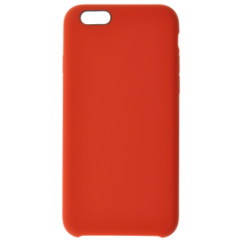 Coque soft touch Rouge iPhone 5/5S/SE 1°gen