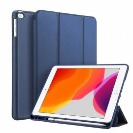 Folio Bleu marine iPad 7 et 8
