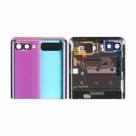 Vitre arrière + LCD Z Flip Violette