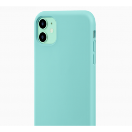 Coque soft touch Verte iPhone 12/ 12Pro