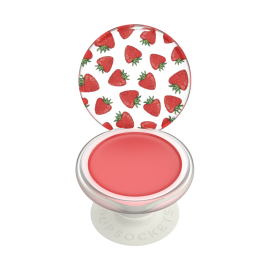 PopGrip Lips Strawberry Feels