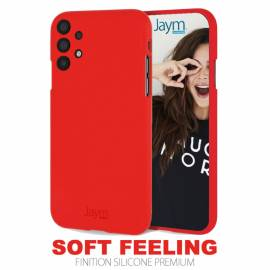 Coque soft touch Rouge A32 - 4G