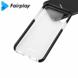 Coque transparente et noire A52 5G