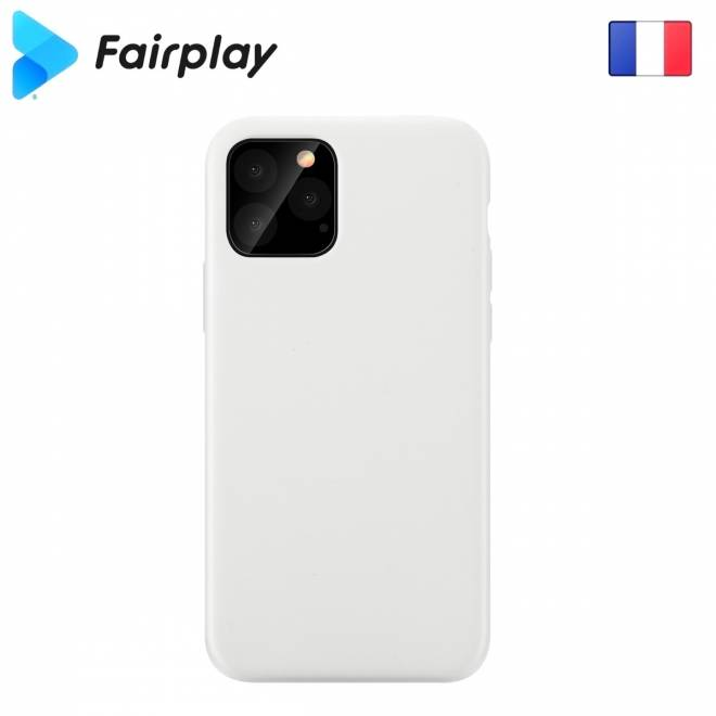 Coque soft touch Blanche iPhone 11 Pro