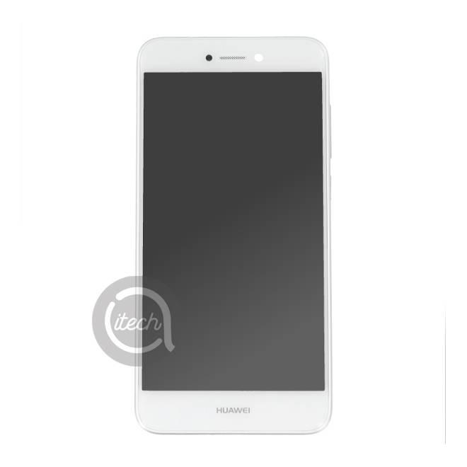 Ecran Blanc avec châssis Huawei P8 Lite 2017